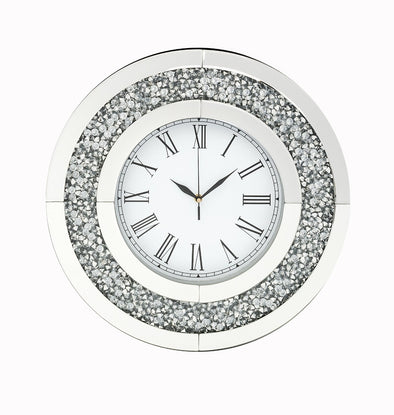 Round Diamond Crush Clock