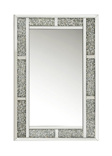 Crushed Diamond Bar Mirror