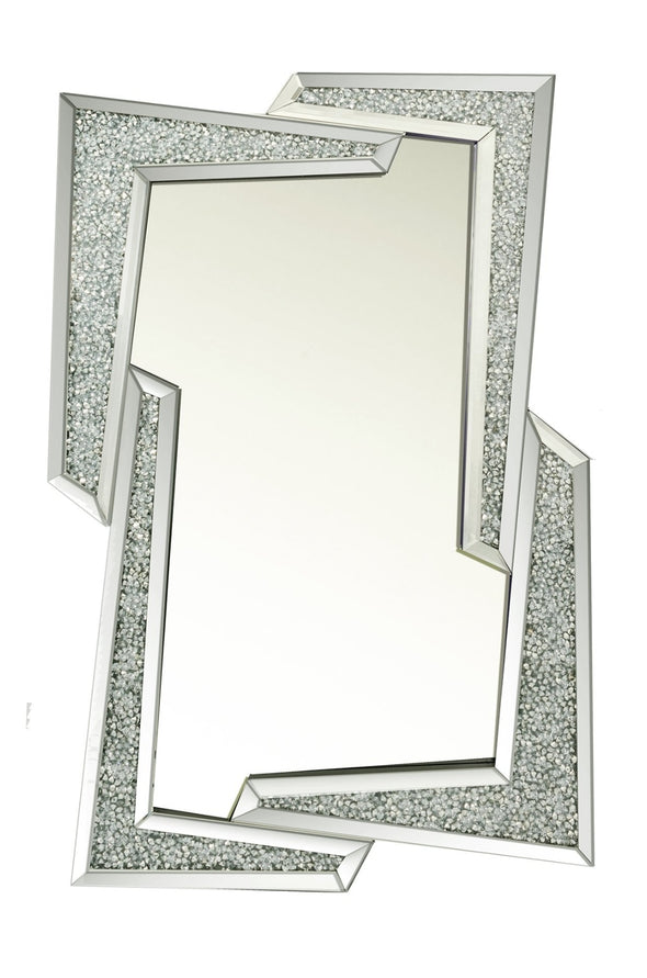 Crushed Diamond Strike Mirror