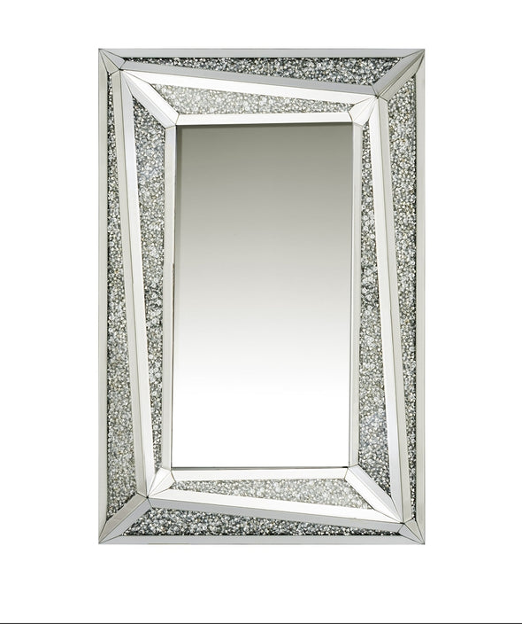 Crushed Diamond Split Mirror