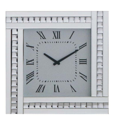 Crystal Mirrored Clock