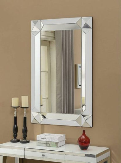 Malibu Mirrored Rectangular Wall Mirror