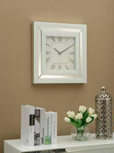 Malibu Mirrored Wall Clock