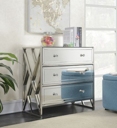 Pacific Mirrored 3 Drawer Chest