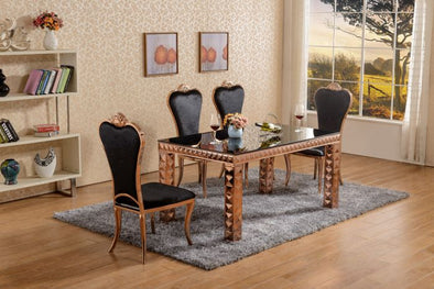 Diamond Gold Dining Set
