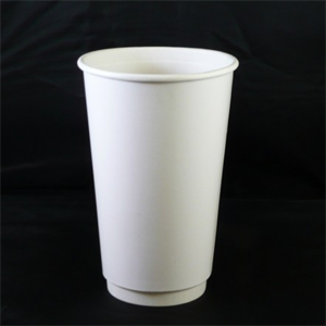 b40eb736276 White Paper cups. Ideal for hot drinks. Double wall design. | Dras Traders