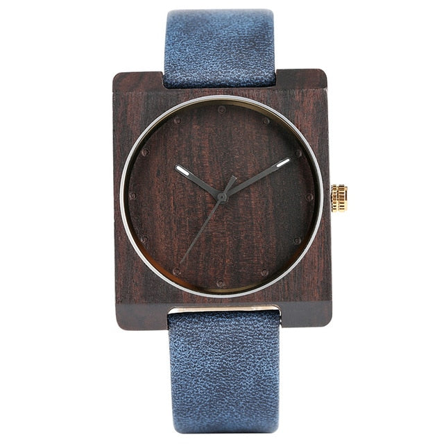 SQUARE  OFF With This Bamboo Watch!