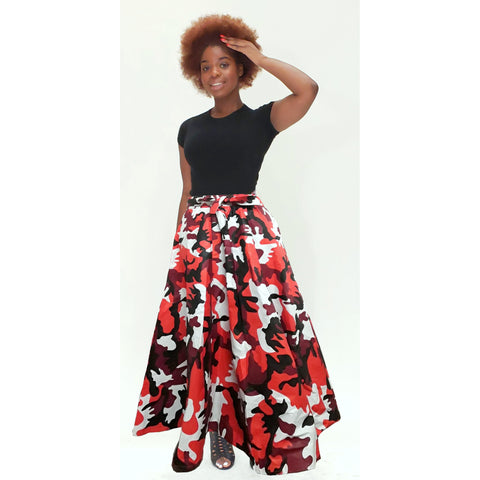 CAMOUFLAGE  SKIRTS SETS