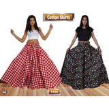 Cotton Waxed Skirts