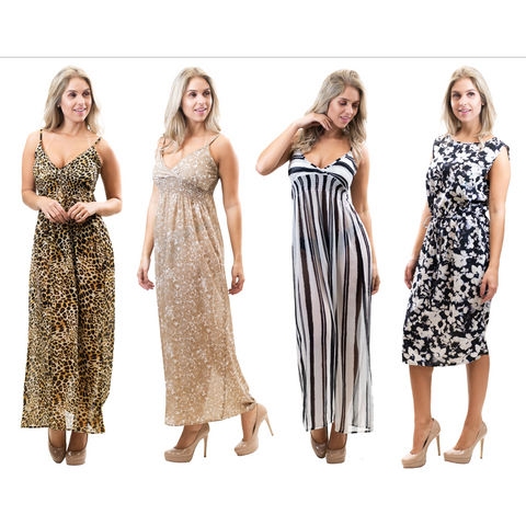 LADIES DRESS-903-12 PCS PACK
