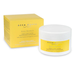 Acca Kappa Green Mandarin Hand &  Body Butter 8.25 fl. oz. - 244 ml - Shop Italy and Sicily Gifts Made in Italy Italian Themed