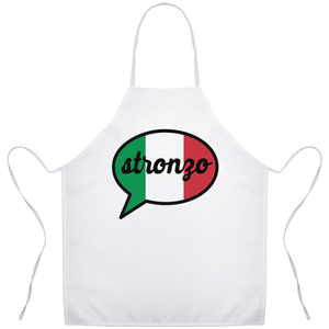 Stronzo Funny Italian Sicilian Gift Apron - Shop Italy and Sicily Gifts Made in Italy Italian Themed
