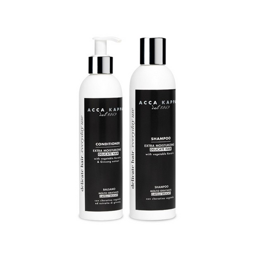 Acca Kappa White Moss Hair Shampoo Conditioner Italian Haircare Set - Shop Italy and Sicily Gifts Made in Italy Italian Themed