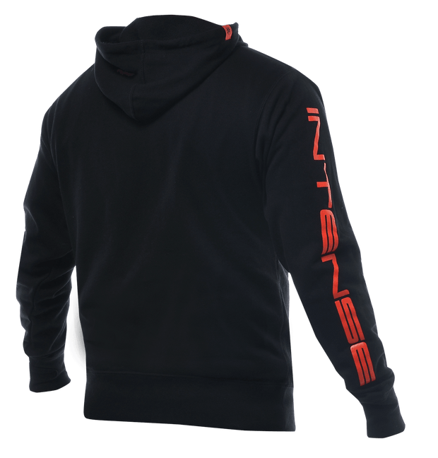 INTENSE Men's Zip-Up Hoodie Black