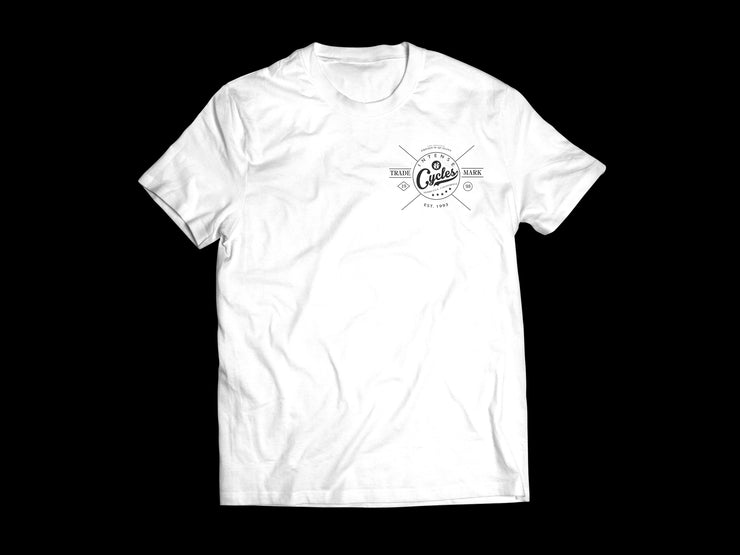 INTENSE TRADEMARK TEE (WHITE)