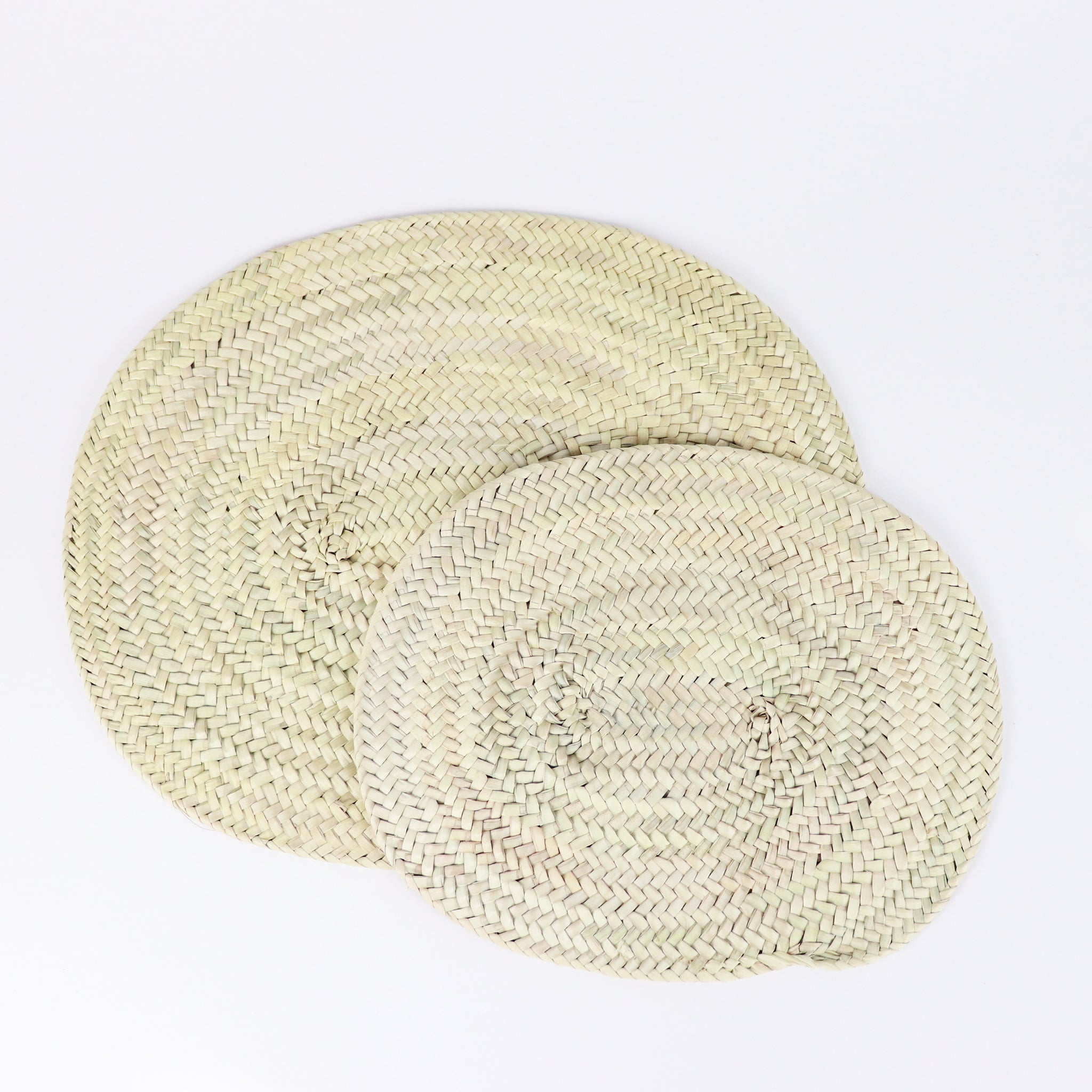 Oval Straw Placemat