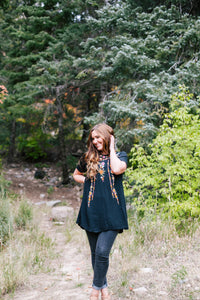 Paige Flower Tunic
