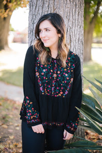 Nora Embroidered Blouse