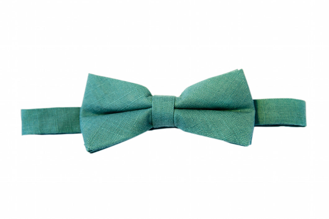 Green bow ties, Fern bow ties