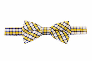 Yellow bow tie, Honey bow tie