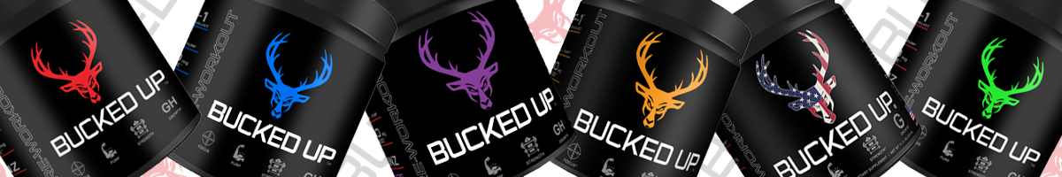 Bucked Up Product Banner