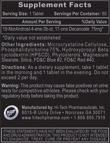 Hi-Tech-Decabolin-Supplement-Facts