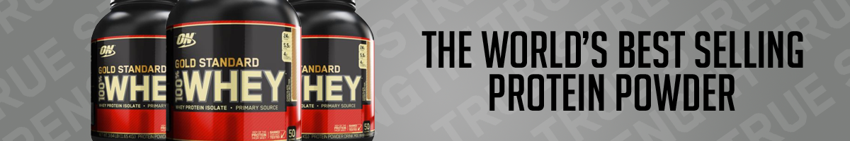 Optimum Nutrition Gold Standard Whey Product Banner