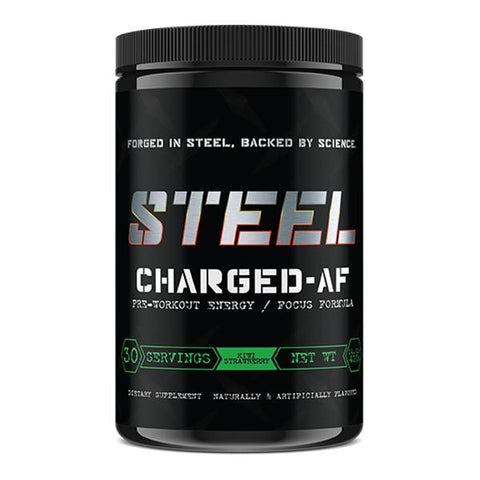 Steel Supplements Charged-AF Kiwi Strawberry 30 Servings