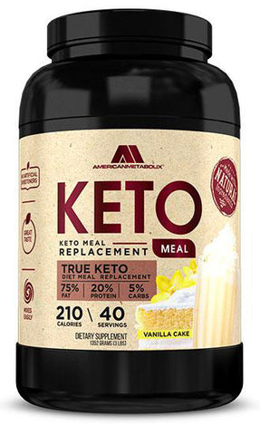 American Metabolix Keto Meal 40 Servings