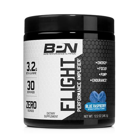 Bare Performance Nutrition (BPN) Flight Blue Raspberry 30 Servings