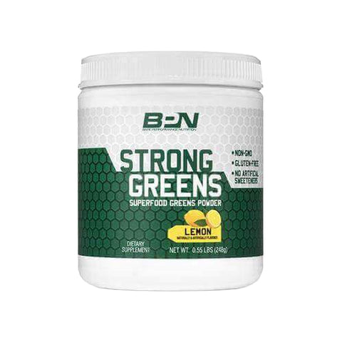 Bare Performance Nutrition Strong Greens Lemon 30 Servings