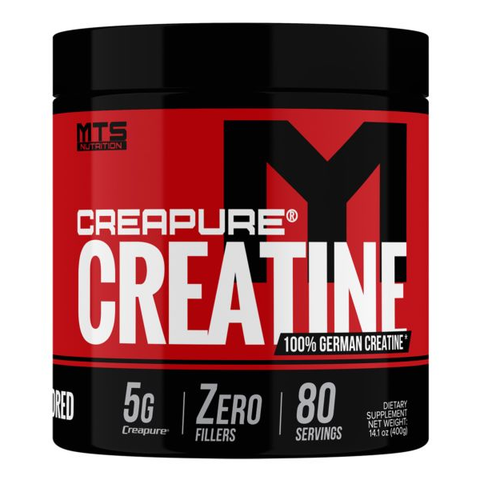 MTS Nutrition Creapure Creatine Monohydrate 80 Servings