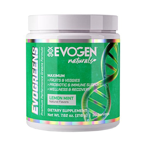 Evogen Nutrition Evogreens Lemon Mint 30 Servings