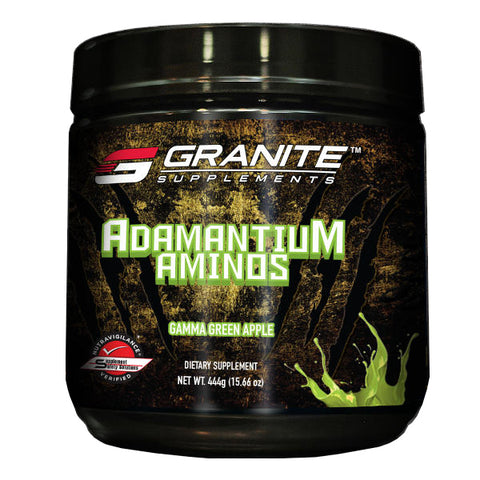 Granite Supplements Adamantium Aminos Gamma Green Apple