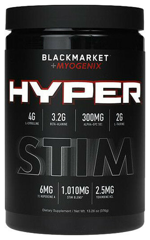 BlackMarket Labs + Myogenix Hyper STIM