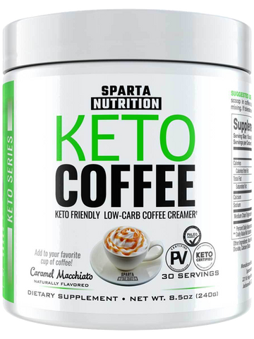 Sparta Nutrition Keto Coffee 30 Servings