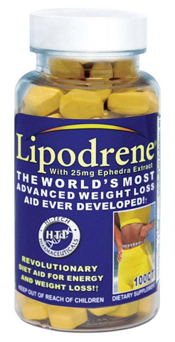 Hi-Tech Pharmaceuticals Lipodrene 100 Tablets