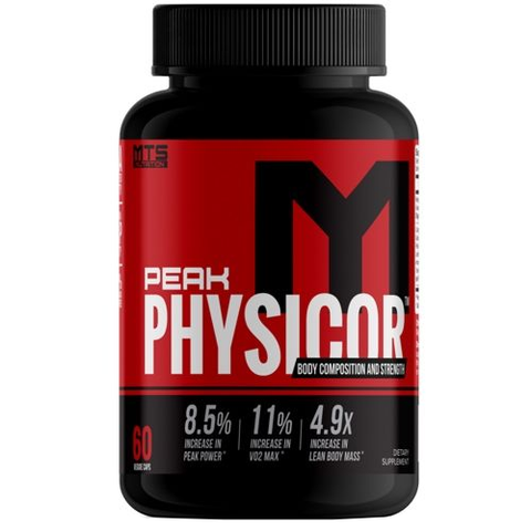 MTS Nutrition Peak Physicor 60 Capsules