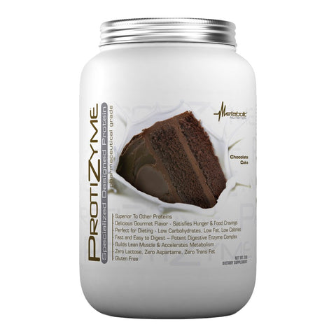Metabolic Nutrition Protizyme  Chocolate Cake 2 Pounds