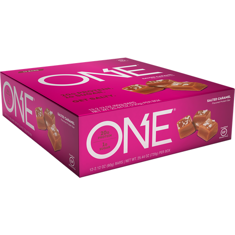 One 1 Brands One Bar Salted Caramel