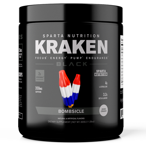 Sparta Nutrition Kraken Black Bombsicle 40 Servings