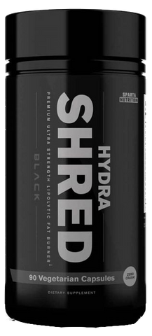 Sparta Nutrition Hydra Shred Black
