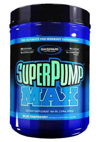 Gapsari Nutrition SuperPump Max Blue Raspberry