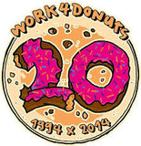 Work4Donuts Logo Partnerschaft