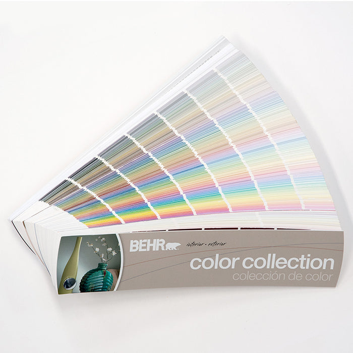 BEHR  Interior/Exterior Color Collection Fan Deck