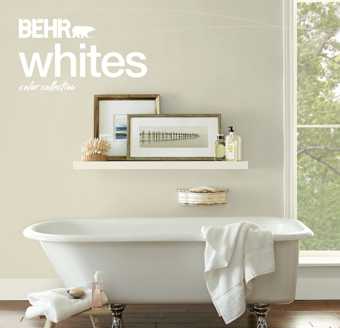 BEHR Whites Color Collection