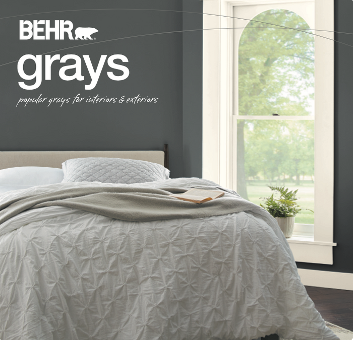 BEHR Grays Color Collection Brochure