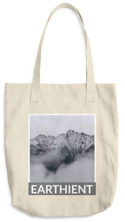 Misty Mountains Cotton Tote Bag