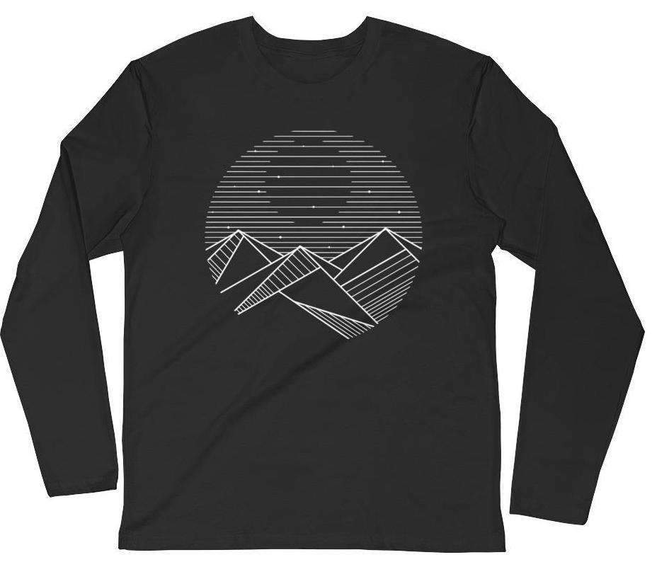 Mountain Moon Women's Long Sleeve Tee