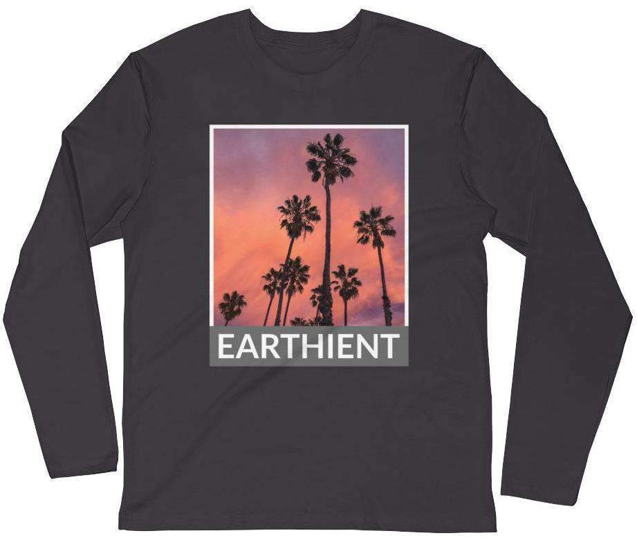 Palm Trees Women's Long Sleeve Tee